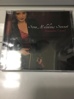 Hanneke Cassel Some Melodious Sonnet CD New in Package ( See Other Photo)