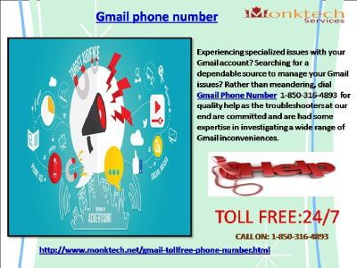 Do You Know About Gmail Phone Number Via 1-850-361-8504?