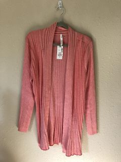NY Collection XL coral sweater NWT