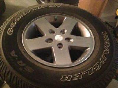 $750 Goodyear Wrangler - P255/75R17 OWL On/Off-Road Tires