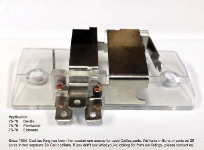 Purchase 79-85 Cadillac Interior Map Dash Light Switch Assembly motorcycle in Somis, California, United States, for US $79.97