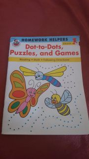 homework helpers dot to dot,puzzles and games