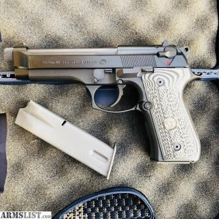 For Sale/Trade: THREADED BERETTA M9 with WILSON GRIPS