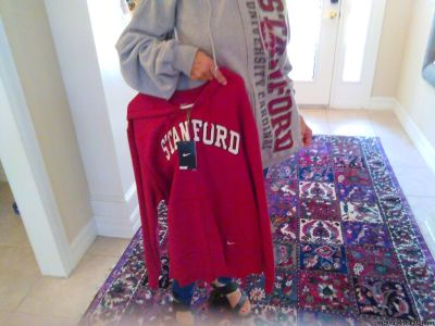 2 NEW Stanford sweatshirts, grey and red
