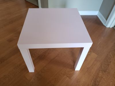 Light Pink Ikea Lack Table