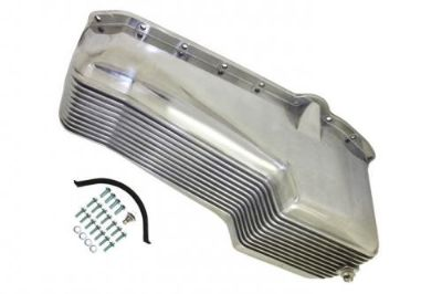 Purchase 1958-79 CHEVY SMALL BLOCK 262-267-283-305-327-350-400 ALUMINUM oil pan chevrolet motorcycle in Las Vegas, Nevada, United States, for US $109.99