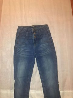 High waisted jeans from Charlotte Russe