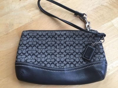 Coach Wristlet - never used. Authentic