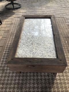 Outdoor coffee table and two side tables