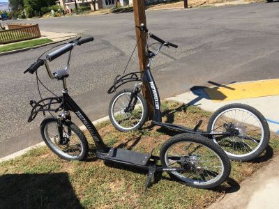 Pair of Adult Bikes: $100 for the pair