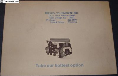 1964 8 Page Instant Heater Sales Brochure
