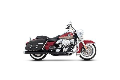 Purchase RINEHART BLACK W/ CHROME END CAPS CLASSIC DUALS FOR 09-13 HARLEY TOURING MODELS motorcycle in Burlington, Wisconsin, US, for US $749.95