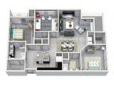 The Cliftwood - Three BR Two BA 1370 sqft C1