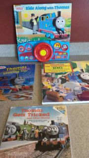 4 Thomas the Train Books