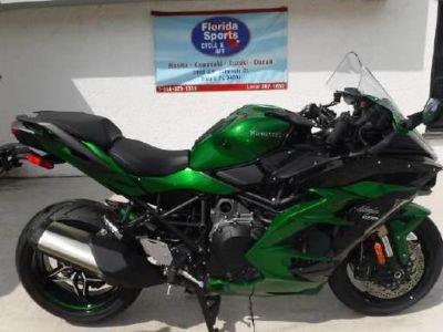 2018 Kawasaki Ninja H2 SX SE Supersport Stuart, FL