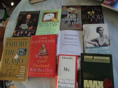 10 history/biography BOOKS