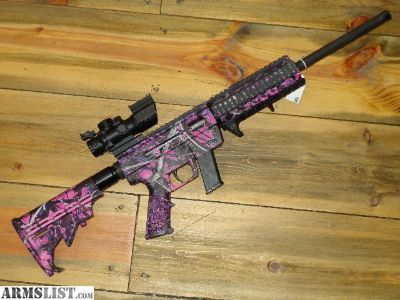 For Sale: JRC .40 Carbine Rifle Muddy Girl Pink Glock Mags