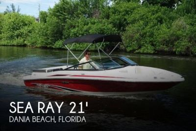 2013 Sea Ray 205 Sport Bowrider