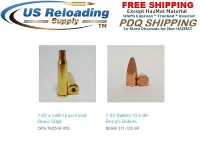 7.62 Reloading Supplies with Free Shipping