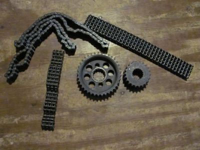 Yamaha SR GPX SRX Chains and Gears