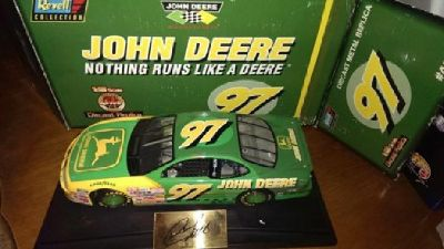$10 John Deere #97 - Chad Little 1:18 Scale Diecast car