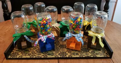 Handmade Candy Dispensers - Great for Easter Gifts