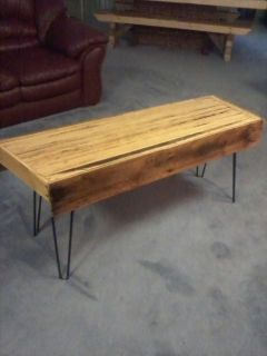 Wood coffee tables