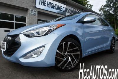2013 Hyundai Elantra Coupe GS (Atlantic Blue)