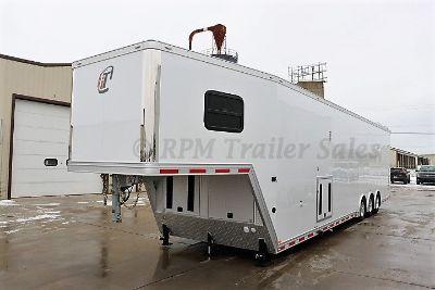 44' Race Trailer Full Bathroom - 12501