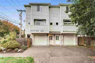 2452 NW 57th St Seattle Three BR, Bright & airy townhouse on