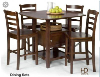 Dining Table Set with storage
