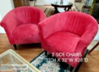 Red Accent Chairs GO BOLD