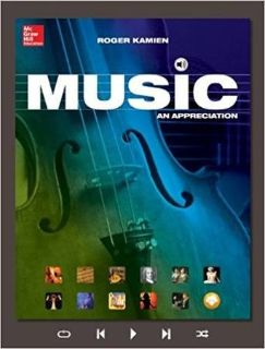 Music for Appreciation book & cds