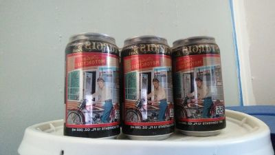 2005 Sturgis beer complete six pack unopened.