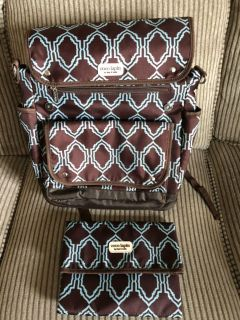 Coco Lapin by Timi & Leslie EUC Backpack Diaper Bag