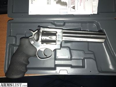 "For Sale/Trade: *For Trade/Sale* NIB, NEVER FIRED Ruger GP100 6"" .357 Mag"