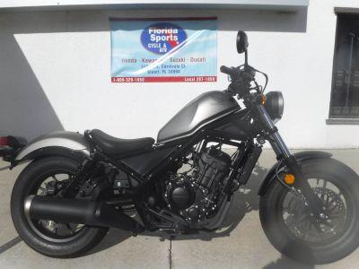 2017 Honda Rebel 300 Cruiser Motorcycles Stuart, FL
