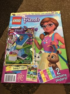 LEGO friends with book