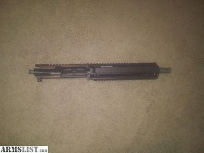 """For Sale: 10.5"""" upper 5.56"""