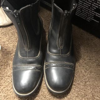 Horse riding boots- girls size 5