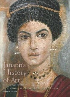 $4 OBO Janson's History of Art Seventh Edition 0-13-193468-6