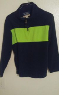 Est. 1989 blue and green sweater boys size 8-10