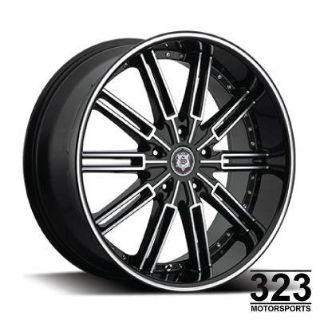 "Find 20"" INCH WHEELS RIMS SEVIZIA 428 BLACK MACHINE 5LUG RIDGELINE M56 Q45 QX56 motorcycle in Los Angeles, California, US, for US $629.00"