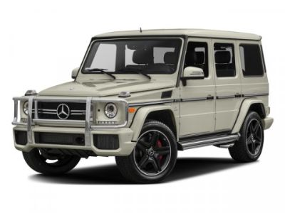 2016 Mercedes-Benz G-Class G63 AMG (Mars Red)