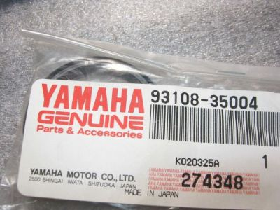 Sell YAMAHA SWING ARM OIL SEAL YFZ350 YFS200 IT200 FZR6 1979-2015 NOS OEM 93108-35004 motorcycle in Yale, Michigan, United States, for US $10.92