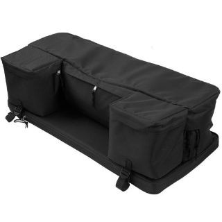 Sell Black 4-Wheeler ATV Rack Storage Pack Gear Luggage Bag with Cushion 62102 motorcycle in West Bend, Wisconsin, United States