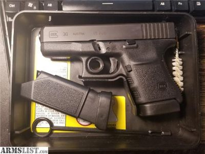 For Sale: Mass Compliant Glock 30 .45acp G30