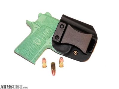 For Sale: Aggressive Concealment KMRIWBLP IWB Kydex Holster Kimber micro raptor