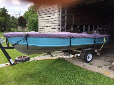 Blue Fin 16 foot aluminum fishing boat