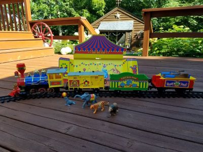 Train - Musical Christmas Circus Train